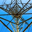 High voltage tower on a background with sky — Stock Photo #5552829
