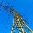 High voltage tower on a background with sky — Stock Photo #5552876