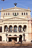 Famous Opera house in Frankfurt — Stock Photo