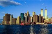 Tweelingtorens in new york — Stockfoto