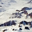 Aerial view of the antarctica — Foto Stock