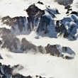 Aerial view of the antarctica — Stock Photo