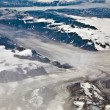 Stock Photo: Aerial view of the antarctica