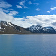 Stock Photo: Glacier in the arctic ocean