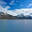 Glacier in the arctic ocean — Stock Photo