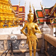 A kinaree, a mythology figure, in the Grand Palace in Bangkok — Stock Photo #5616061