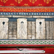 Stockfoto: Paintings in temple Wat Pho teach Acupuncture and fareast medici