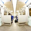 Train compartment — Stockfoto