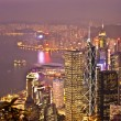 Stock Photo: Hong Kong view from Victoria Peak