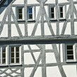Old renovated half timbered houses — Stock fotografie