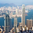 Stock Photo: Hong Kong city view from Victoripeak
