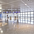 Departure hall — Stock Photo