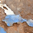 Old paint at the wall - Stockfoto