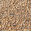 Pattern of stones in concrete - Stockfoto
