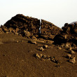 Volcano landscape at sunset, national parc of Timanfaya in Lanza — 图库照片