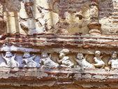 Fragment av fresk i gamla kings palace — Stockfoto