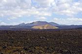 Vulcanic landscape — Stock Photo