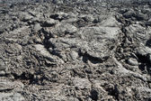 Cold volcanic flow in detail — Stock Photo