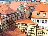 W starym mieście w bambergu — Zdjęcie stockowe