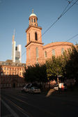 Paulskirche in Frankfurt, first parlament in germany — Stock Photo