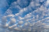 Himlen med moln — Stockfoto
