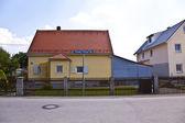 房屋面积在慕尼黑郊区街道 — 图库照片