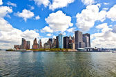 New yorks panorama med manhattan skyline — Stockfoto