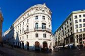Famous coffeehaus cafe Griensteidl in Vienna — Stock Photo