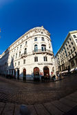 Old building downtown Vienna — Stock fotografie