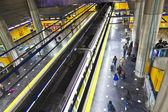 Metro de madrid — Foto Stock