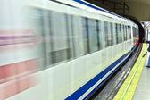 Metro v madridu — Stock fotografie