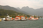 Fisherboats in Koh Chang, Thailand — Stock Photo