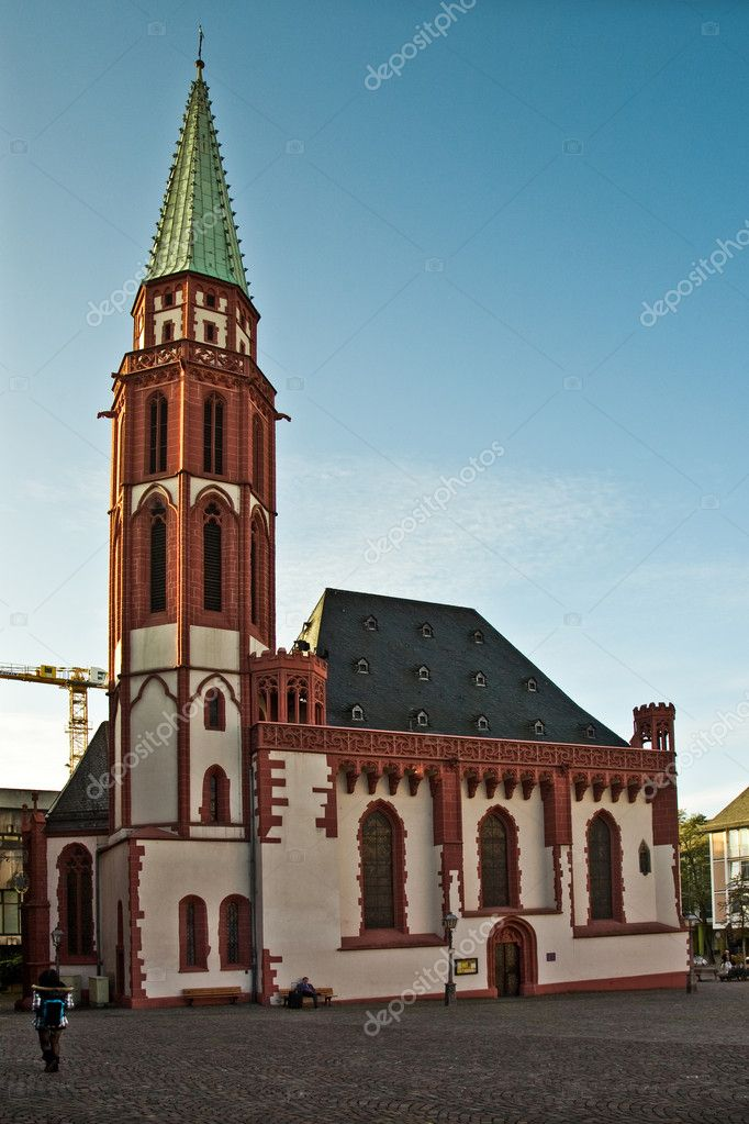 Nikolaikirche at the R — Stock Photo #5615865