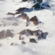 Aerial view of the antarctica — Stock Photo #5635552