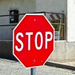 STOPP traffic sign - Stock fotografie