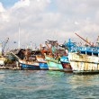 Fisherboats in the harbor in Koh Samet, Thailand — Stock Photo