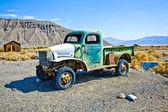 在鬼城和前黄金镇的 ballarat 旧阶段马车 — 图库照片