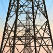 Electrical tower in beautiful landscape — Foto Stock