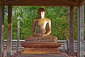 Samadhi Buddah Statue, meditating Buddah — Stock Photo
