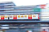 Tren en movimiento — Foto de Stock