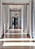 Empty Office aisle — Stock Photo