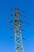 Elektrická věž v parku průmyslu — Stock fotografie