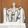 Stock Photo: Lincoln Memorial in Washington