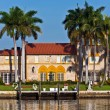 Beautiful houses downtown at the waterfront Miami - Lizenzfreies Foto