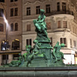 Providentia Fountain in vienna - Stok fotoğraf