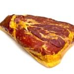 Fresh tasty ham in detail — Stock Photo #5665290