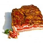 Fresh tasty ham in detail — Stock Photo #5665300