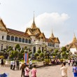 Chakri Maha Prasat in the Great Palace in Bangkok - Stock Photo