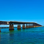 Old Railroad Bridge on the Bahia Honda Key in the Florida keys — Stock Photo #5665940