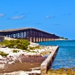 Old Railroad Bridge on the Bahia Honda Key in the Florida keys — ストック写真